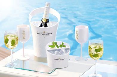 НАГРАДА #4: Бутилка шампанско Moët Ice Impérial