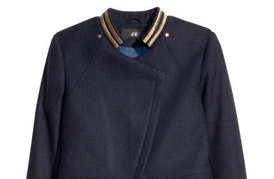НАГРАДА #6: Скъсеното яке със златни нишки от новата есенна колекция на H&M