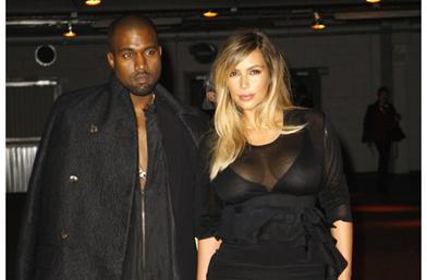 1 октомври, вторник - Ким Кардашян и Канйе Уест на първи ред на Givenchy