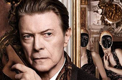 Първата снимка от рекламната кампания на Louis Vuitton с Дейвид Бауи