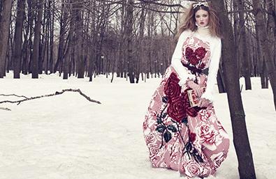 Руско великолепие в японския Vogue