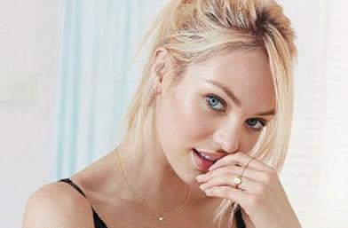 Сладко & Секси: Кандис Суинепол в първата фотосесия на Victoria's Secret за годината