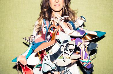 Първата колекция обувки на Сара Джесика Паркър. Отблизо!