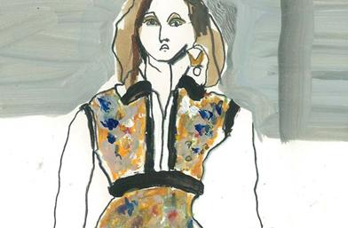 Louis Vuitton в сърцето и ума на един моден илюстратор