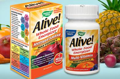 Спечели си Alive! Подаряваме ви животворната формула в новата игра на ViewSofia и Nature's Way