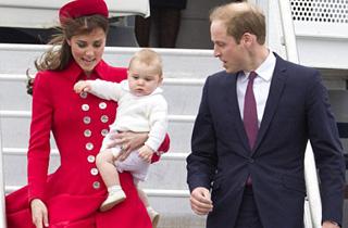 Oчарователният Принц Джордж разнежи Нова Зеландия