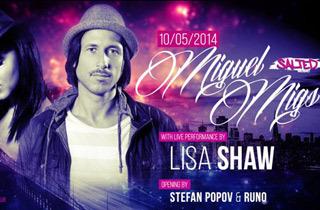 Кой е късметлията, който ще отиде на партито на MIGUEL MIGS и LISA SHAW в Yalta Club