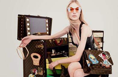 Страхотна колаборация: Карин Ройтфелд и Louis Vuitton