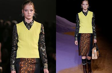 От Prada отново заложиха на 14 годишен модел
