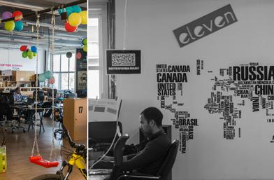 В офиса на... ELEVEN (снимки)