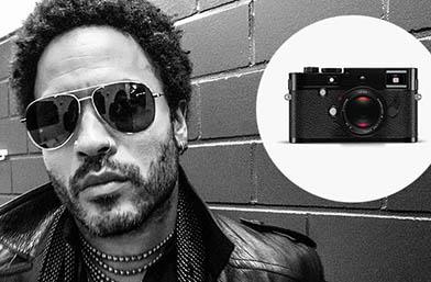 Men's Exhibit: Лени Кравиц и Leica създават лимитирана серия фотоапарати