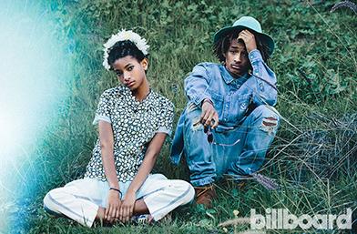 Децата на Уил Смит - Джейдън и Уилоу за списание Billboard