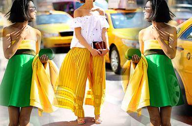 Street Style вдъхновения... Oптимистично жълто