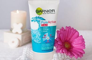 Добре е да се пробва: Garnier Pure Active 3 in 1 – Три за късмет!