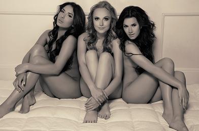 Да или Не!!! Голите момичета от трио