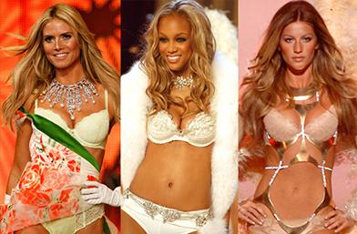 Най-великолепните Ангели на Victoria's Secret от 1995-та досега