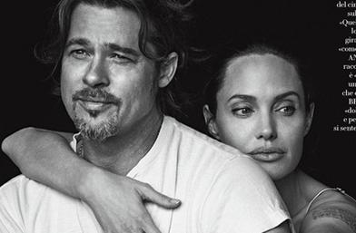 Анджелина и Брад - двамата, отново, този път за Vanity Fair