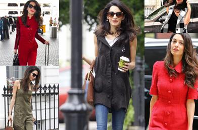 Модната година на Амал Клуни. В 26 убийствени ансамбъла за пример