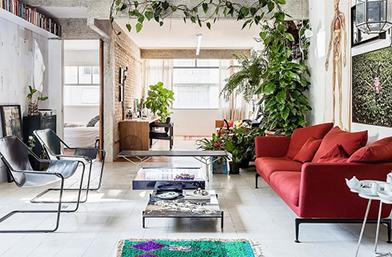 Дизайн за вдъхновение: Дърво в хола!