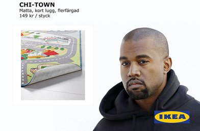 Кание Уест и IKEA - той каза ДА!