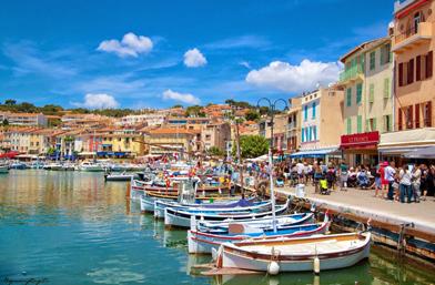 Касис - рибарско селце и най-добре пазената тайна на Прованса