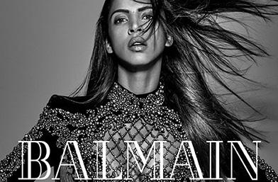 Копринено меки: перуките на Balmain и първата им рекламна кампания