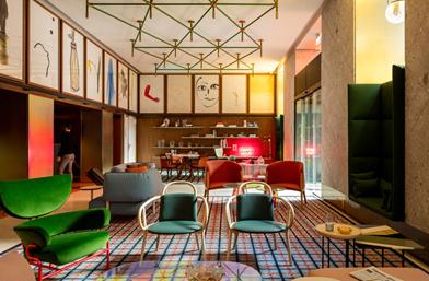 Дизайн за вдъхновение: Патриция Уркиола и ретро шик в Room Mate Giulia, Милано