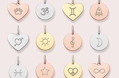 Сребърен медальон Love Coins от Thomas Sabo