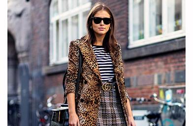 Street style вдъхновения: Леопардовото палто