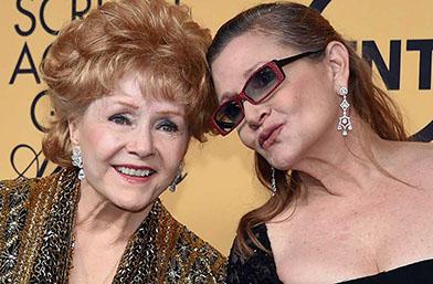 Гуинет, Мерил, Мег и други казаха последно сбогом на Деби Рейнолдс и Кари Фишър