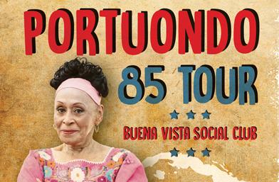 Феноменалната Омара Портуондо празнува с концерт в София 70 години на сцената
