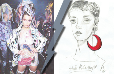 Fashion Battle: Големите обици
