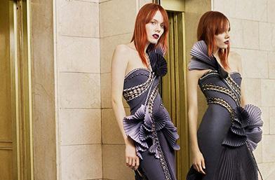Новите колекции: Atelier Versace Пролет/Лято 2017