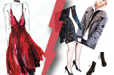 Fashion battle: Зимната рокля