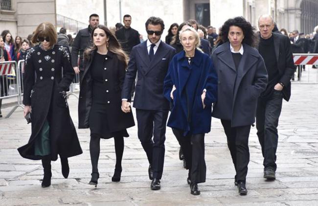 Модният свят се сбогува с Франка Созани