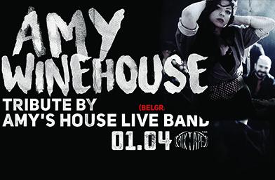 Amy Winehouse оживява на сцената на *Mixtape 5* на 1 април!