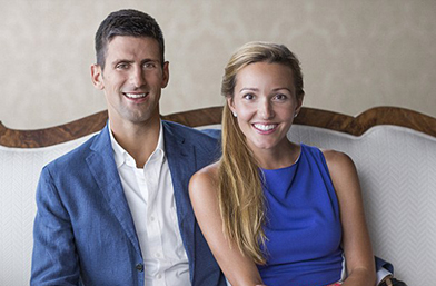 Джокович и бременната Йелена ще се ширят в най-скъпия апартамент в Маями (галерия)