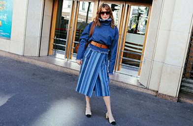 Street style вдъхновение: Stripes