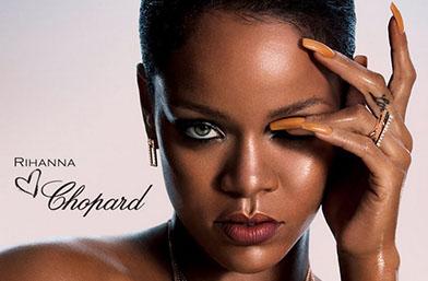 Риана + Chopard = Изящество! Вижте колекцията бижута на певицата!