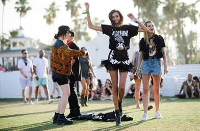 Street style вдъхновения: Coachella Vibes