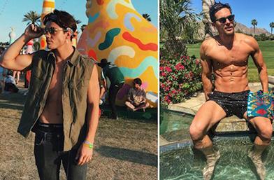 Петъчна доза секс: Горещите момчета на Coachella