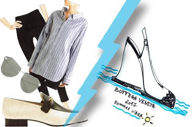 Fashion battle: Мокасини VS. Slingbacks