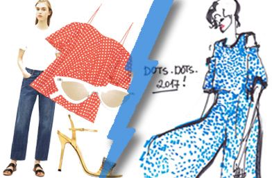 Fashion battle: Polka dot Vibes