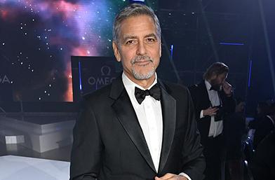 Джордж Клуни на черешата от зор!