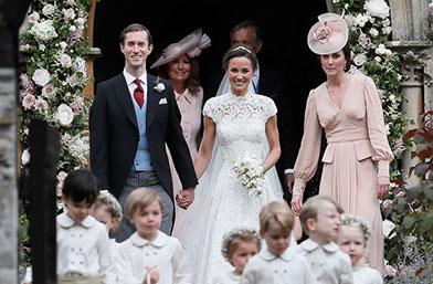 Кралската сватба на Пипа Мидълтън (галерия)