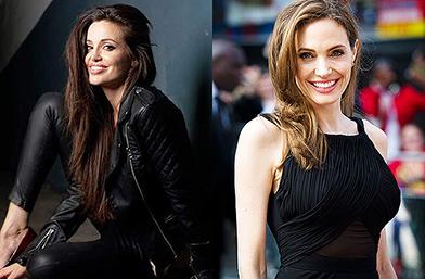Открийте разликите: Двойничките на Анджелина Джоли