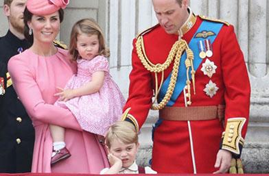 We love: Уилям, Катрин, Джордж и Шарлот на рождения ден на кралица Елизабет