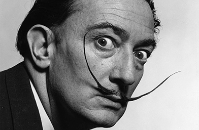 Love to quote: Вдъхновяващият испански сюрреалист с извити мустачки