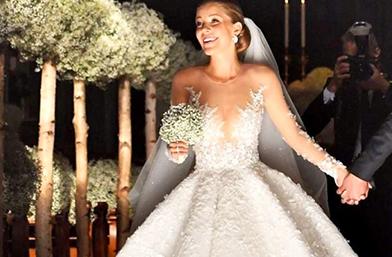 Наследницата на Swarovski вдигна сватба от приказките в Италия