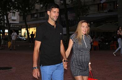Обичта на известните: Новак Джокович и бременната Йелена в Белград